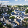 Luxembourg City, the capital of Luxembourg — shown here in 2012 — mixes the medieval and the modern. The tiny European nation is making a serious bid for the futuristic, too.