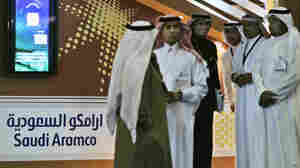 Employees of the Saudi Aramco oil company. (AP Photo/Kamran Jebreili, File)