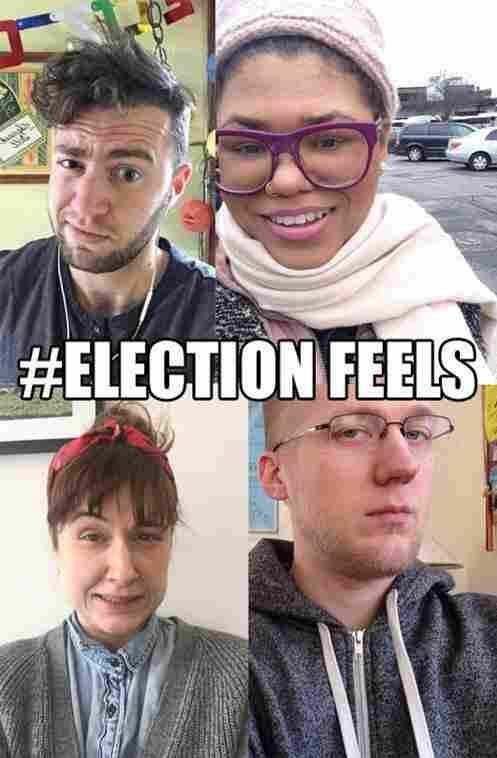 Michigan Radio #electionfeels