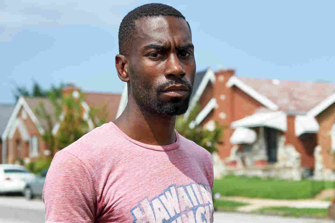 DeRay Mckesson, protester, activist, and now mayoral candidate, is seen in St. Louis, Mo, in Aug., 2015.