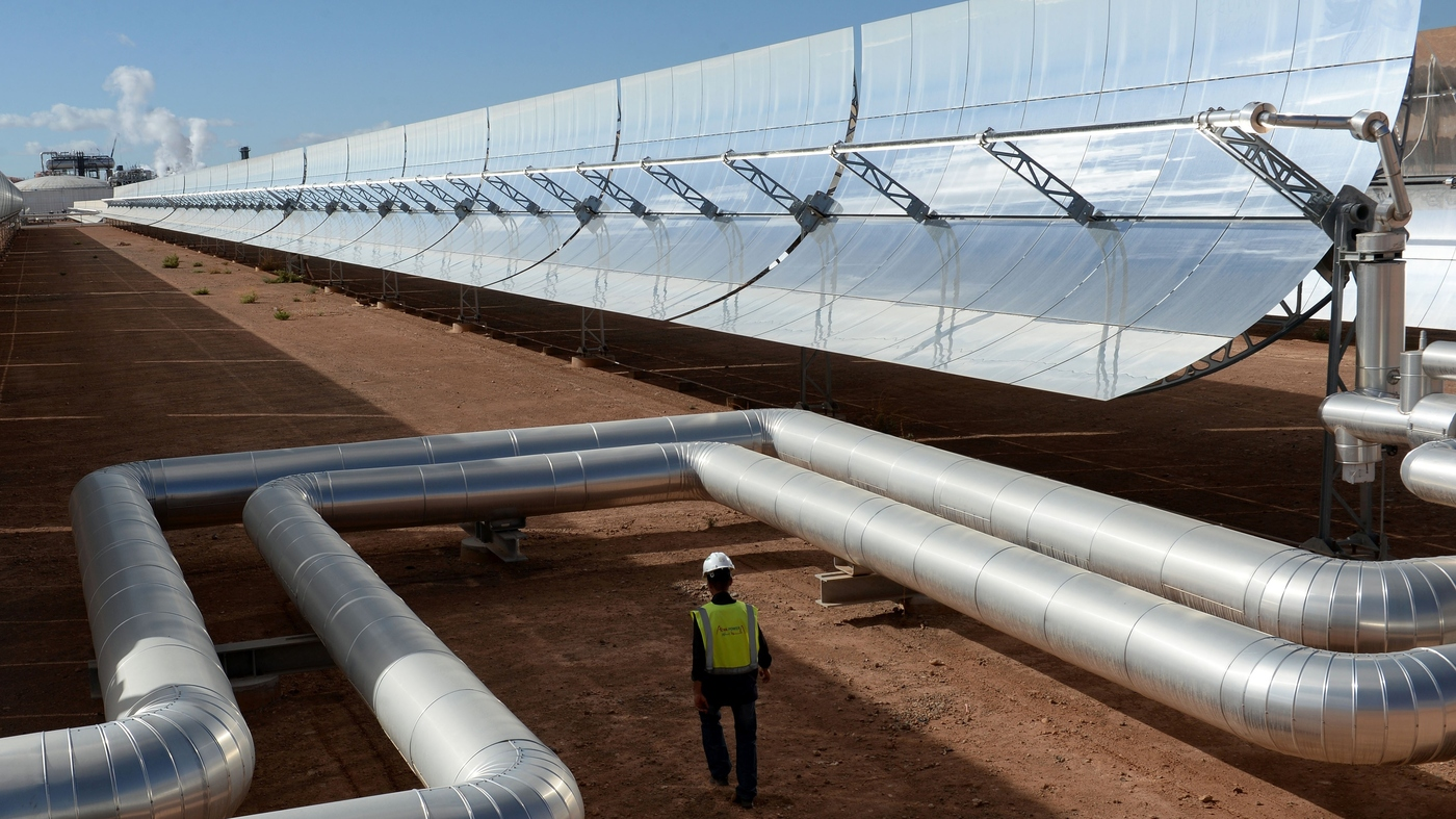 Morocco Unveils A Massive Solar Power Plant In The Sahara