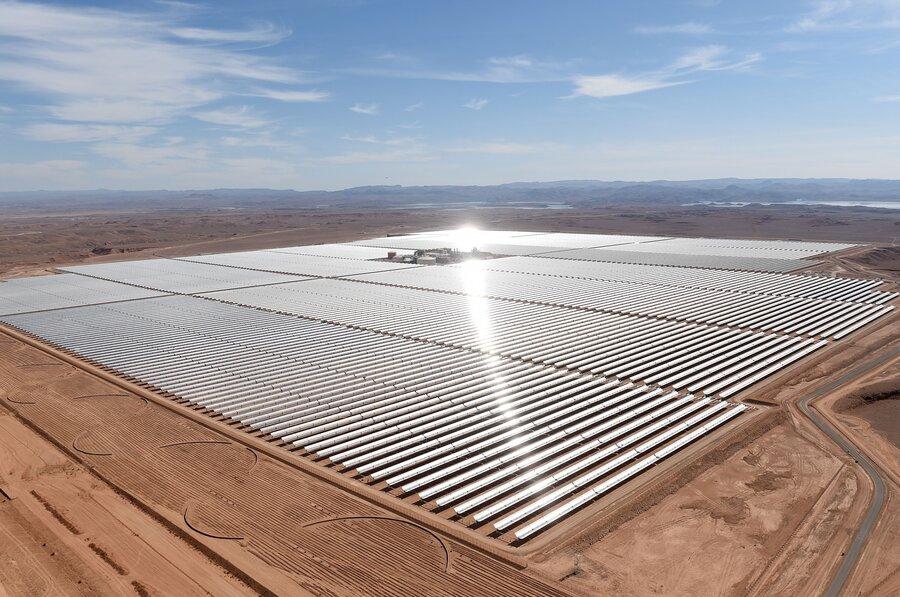 """Résultat de recherche d'images pour """"Maroc, electricity, solar plant, 2017"""""""