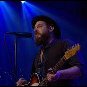 Nathaniel Rateliff, in a still from the group's Austin City Limits performance.