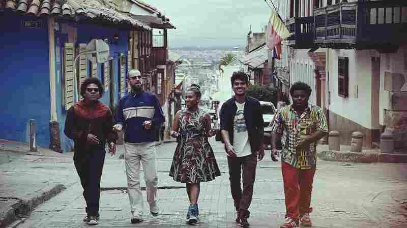 Richard Blair recently re-formed Sidestepper with a new generation of Colombian musicians.