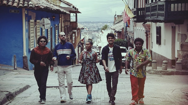 Richard Blair recently re-formed Sidestepper with a new generation of Colombian musicians. (Courtesy of the artist)