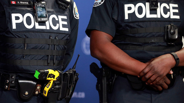 According to the new ruling, police in five Southeastern states cannot use Tasers on nonviolent or noncooperative suspects. (Toronto Star via Getty Images)