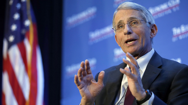 Dr. Anthony Fauci, director of the National Institute of Allergy and Infectious Diseases, says it's not clear whether Zika virus can spread through saliva. (AP)