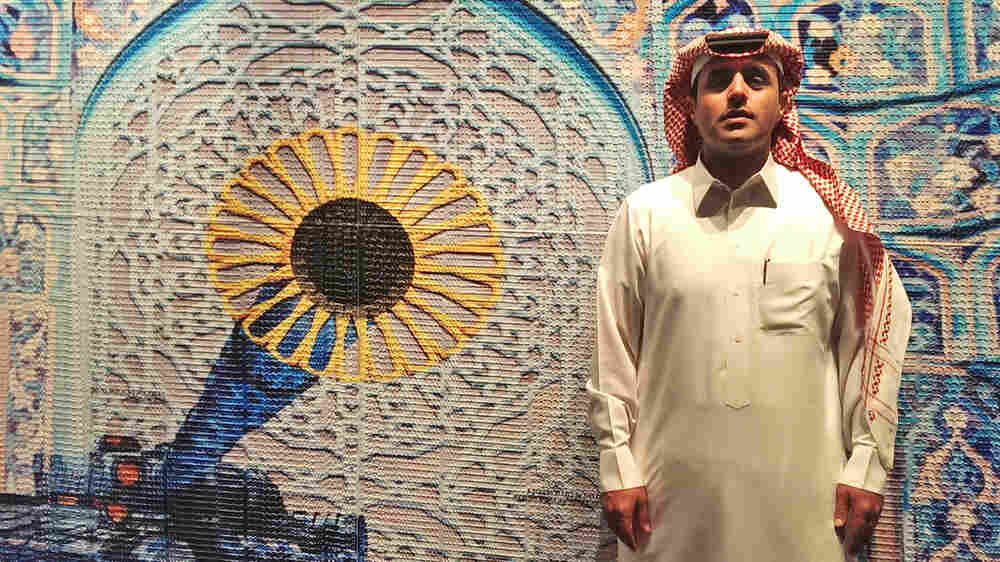 A New Generation Of Saudi Artists Pushes The Boundaries
