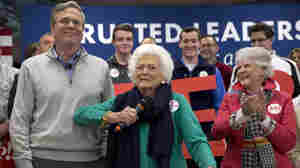 Barbara Bush Hits The Trail For Son Jeb Bush