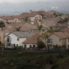 December brought storm clouds to the Porter Ranch neighborhood in Southern California's San Fernando Valley.