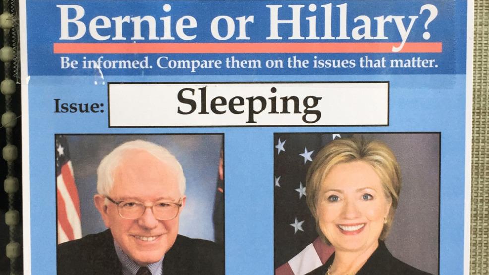 #MemeOfTheWeek: Bernie Or Hillary. Sexist or Nah?