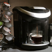 Sales for the Keurig, an individual coffee brewer, are down about $60 million from last year.