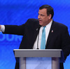 New Jersey Governor Chris Christie took aim at his opponents in Saturday's Republican presidential debate. But how solid is his own record?