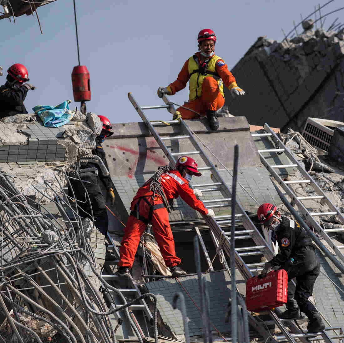 Day After Deadly Quake In Taiwan, Survivors Still Emerging From Rubble