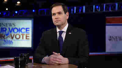 Florida Sen. Marco Rubio appears on ABC's This Week, a day after the eighth Republican presidential debate.