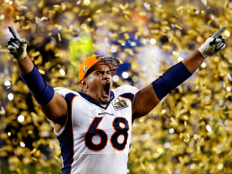 379a6c1259ee Super Bowl 50  Denver Broncos Beat The Carolina Panthers   The Two ...