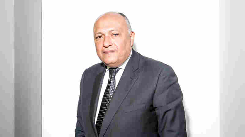 """There is a vibrant political atmosphere that will be conducive to greater achievement"" in Egypt, Foreign Minister Sameh Shoukry tells NPR. But, he says, ""I can't say we're perfect."""