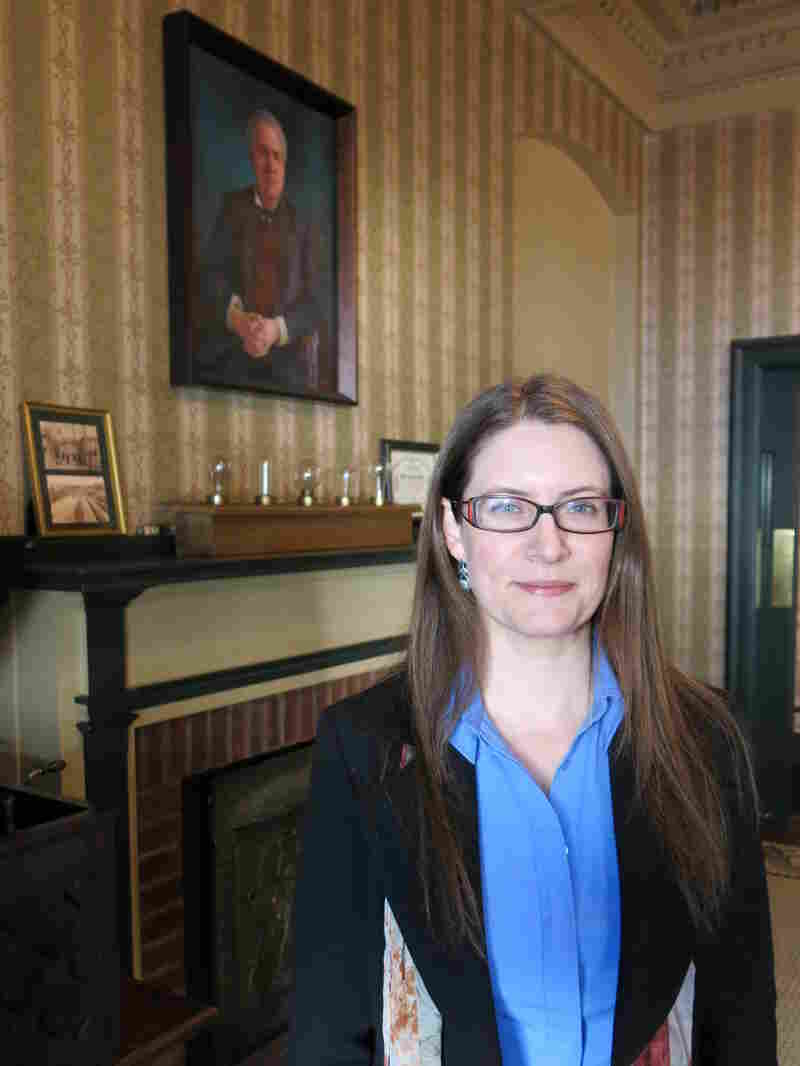 In 1883, the Hotel Edison in Sunbury, Pa., was lit up by Thomas Edison with the first commercial three-wire electric system, says the hotel's co-owner, Meghan Beck.