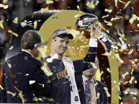 The Denver Broncos' Super Bowl victory against the Carolina Panthers was the third most-watched broadcast in U.S. television history. CBS also streamed the game online.