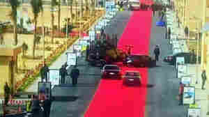 Outrage Over Egyptian President's Red Carpet Arrival