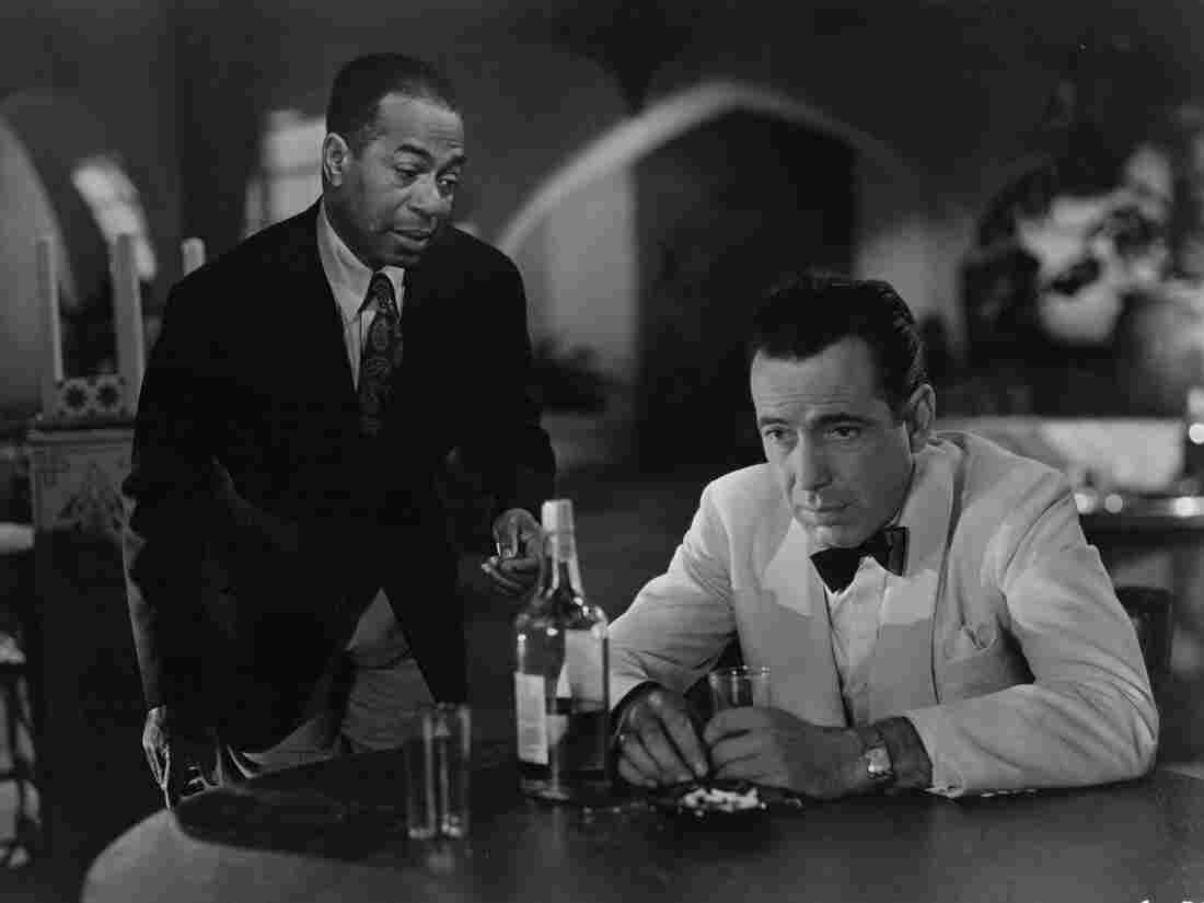 Emotion seemed to fuel plenty of sighs by Humphrey Bogart's character Rick (right) in the 1942 film classic Casablanca, and even Rick's good friend Sam, played by actor Dooley Wilson, couldn't console him.
