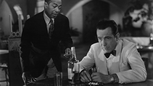 Emotion seemed to fuel plenty of sighs by Humphrey Bogart's character Rick (right) in the 1942 film classic Casablanca, and even Rick's good friend Sam, played by actor Dooley Wilson, couldn't console him. (Getty Images)