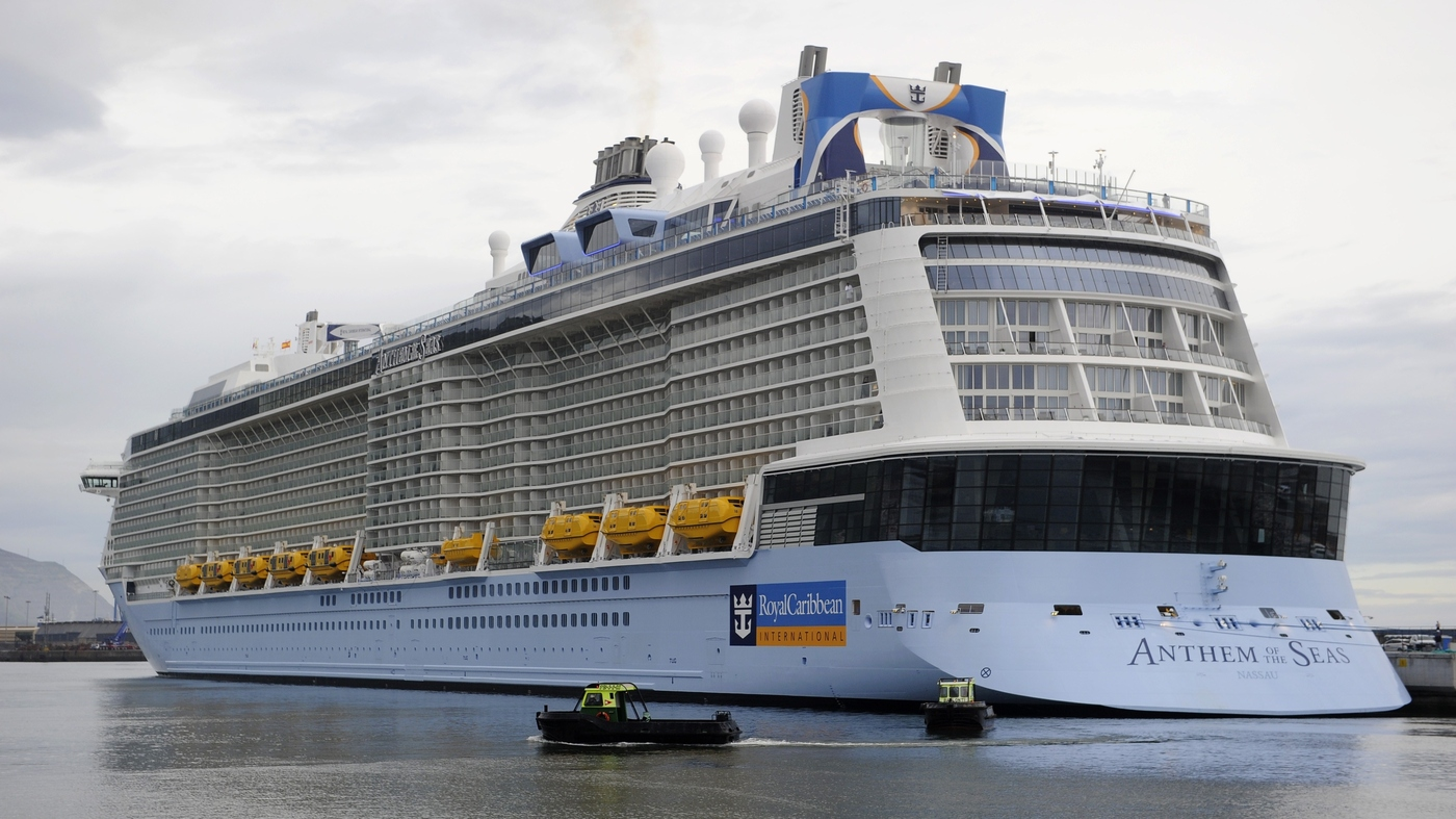 Damaged By Strong Storm Off Eastern US Cruise Ship