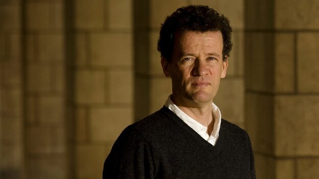 "Author Yann Martel poses in Toronto on April 5, 2010. Martel released his highly anticipated follow-up to the Booker Prize-winning ""Life of Pi"" last week. (AP)"