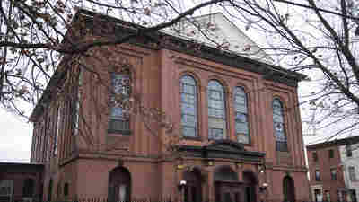 The West Kensington Ministry church in Philadelphia is one of about a dozen churches offering sanctuary to Central American immigrants who are under deportation orders.