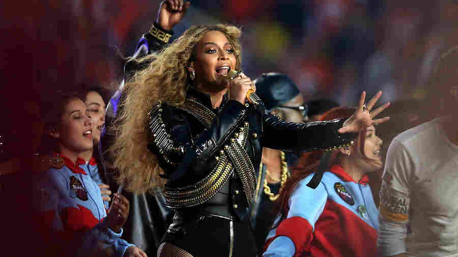 Beyonce performs during the Pepsi Super Bowl 50 Halftime Show at Levi's Stadium on February 7, 2016 in Santa Clara, California.