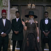 "Beyoncé, in a scene from the video for ""Formation."""