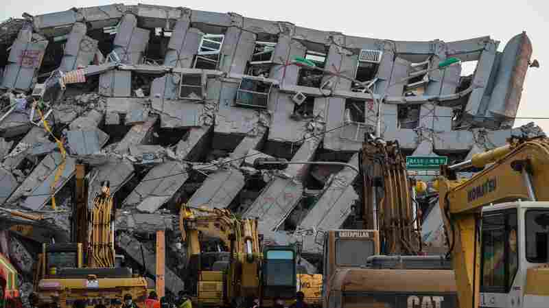 Developers Arrested Over Building That Collapsed In Taiwan's Earthquake