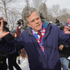 New Hampshire could be Jeb Bush's last stand in the 2016 presidential race. Here, the Republican presidential candidate thanks his supporters outside the polling place at Webster School on February 9, 2016 in Manchester, New Hampshire.