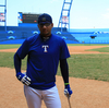 Cuban baseball star Yulieski Gourriel at Latin American Stadium in Havana in the spring of 2015.
