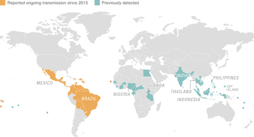 Zika Case Counts In US West Nile Virus In The United States NCAR - Virus map us