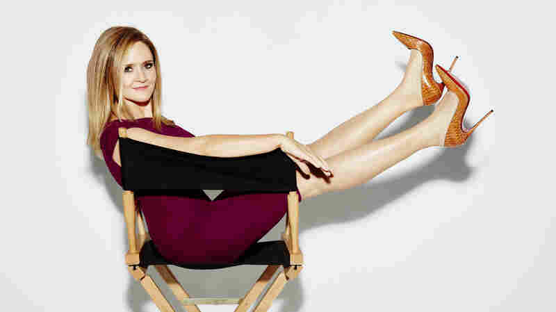 Unlike other late night shows, Full Frontal doesn't have guests, and it doesn't put host Samantha Bee behind a desk.