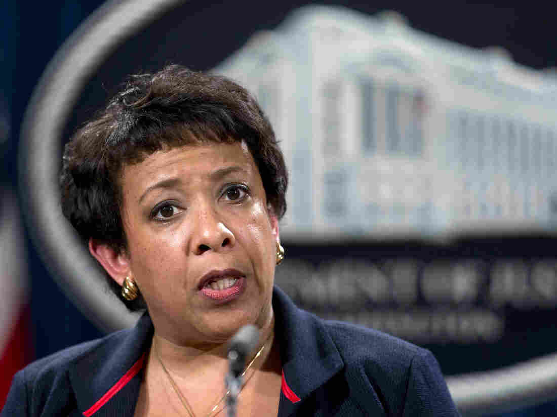 Attorney General Loretta Lynch announced Wednesday that the federal government had filed a lawsuit against the city of Ferguson, Mo.