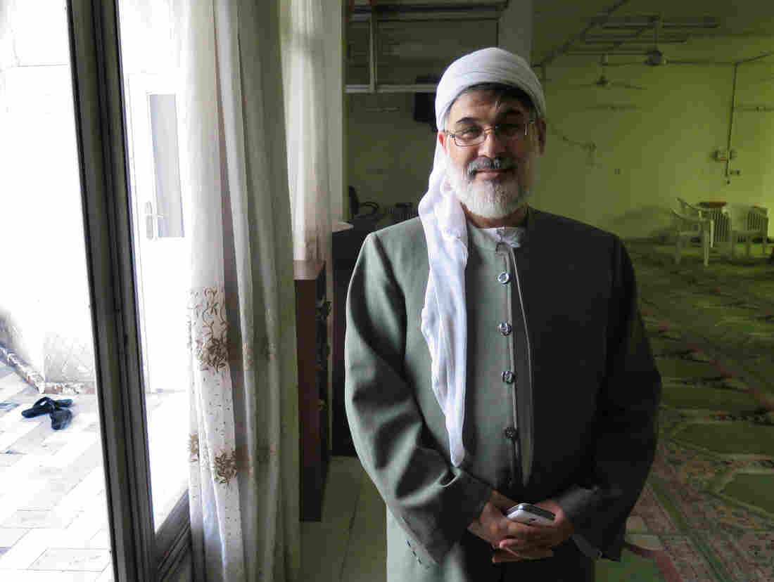 Sunni imam Aziz Babaei, in his prayer room in Tehran, has been telling other Iranian Sunnis to be careful. One radical act, he warns, could bring pain on the whole community.