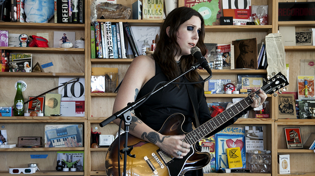 Tiny Desk Concert with Chelsea Wolfe. (NPR)