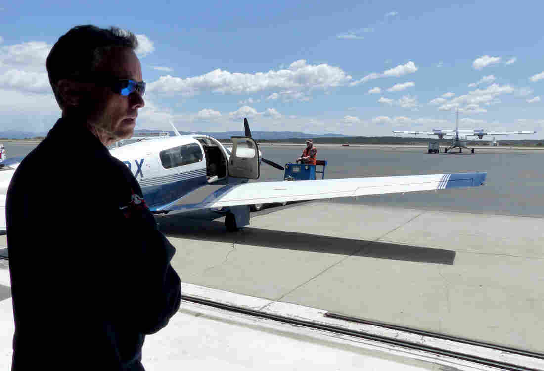 Stephen Conley, a researcher with UC Davis, has been flying over the Southern California gas leak every week to measure the amount of methane released into the atmosphere.