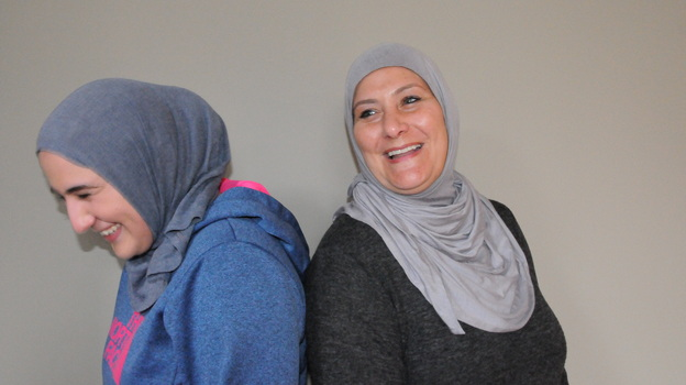 As members of the local Muslim community, Summer Hamad and her daughter Marjan Hamad were personally affected by the murder of three young Muslim-Americans in Chapel Hill, N.C. on Feb. 10th, 2015. After the shootings, they both decided to begin wearing the hijab. (Reema Khrais )