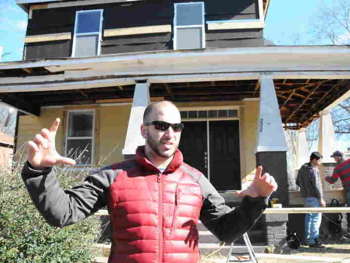 Farris Barakat is the brother of Deah Barakat, one of the Chapel Hill shooting victims. He and others have been converting a house his late brother owned into a community center.