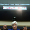 Federal Reserve Board Chair Janet Yellen listens to questions during a House Financial Services Committee hearing on Capitol Hill on Wednesday. Delivering the Federal Reserve's semiannual Monetary Policy Report to the House Committee, Yellen aired caution about global economic conditions.