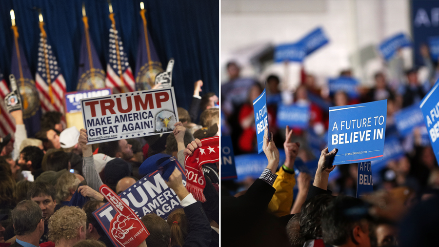 Donald Trump was declared the winner in the GOP primary race in New Hampshire, while Bernie Sanders took the Democratic race.