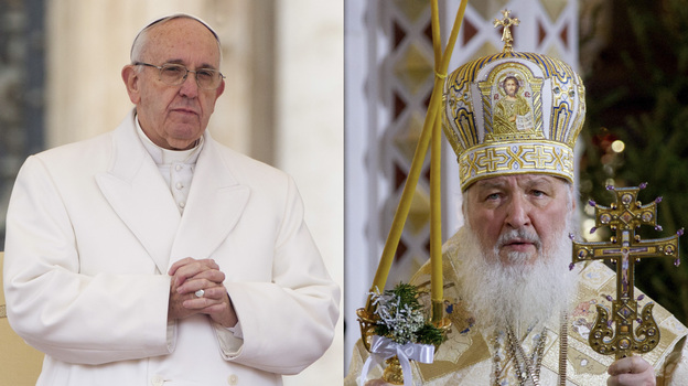 Pope Francis will meet Patriarch Kirill in Cuba, in a historic step to heal the 1,000-year schism that has divided the Roman Catholic and Russian Orthodox churches. (AP)