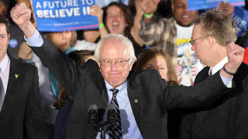 "Bernie Sanders told supporters after winning the New Hampshire primary, ""The American people bailed out Wall Street; now it's Wall Street's time to help the middle class."""