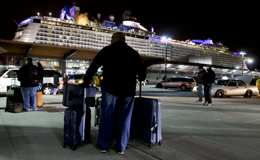 StormTossed Cruise Ship Returns To NJ Port All Hell Broke - Bayonne cruise ship terminal address