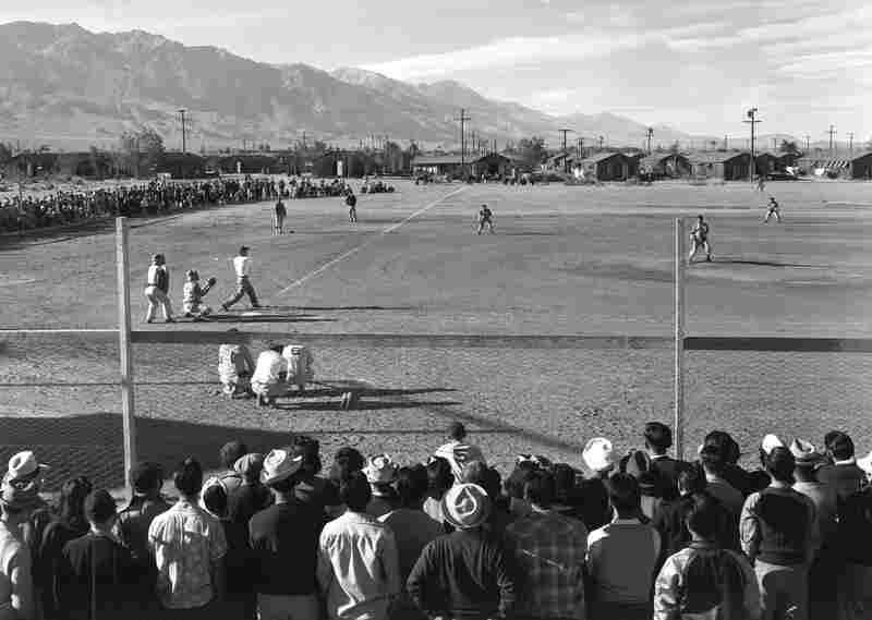 Baseball at Manzanar.