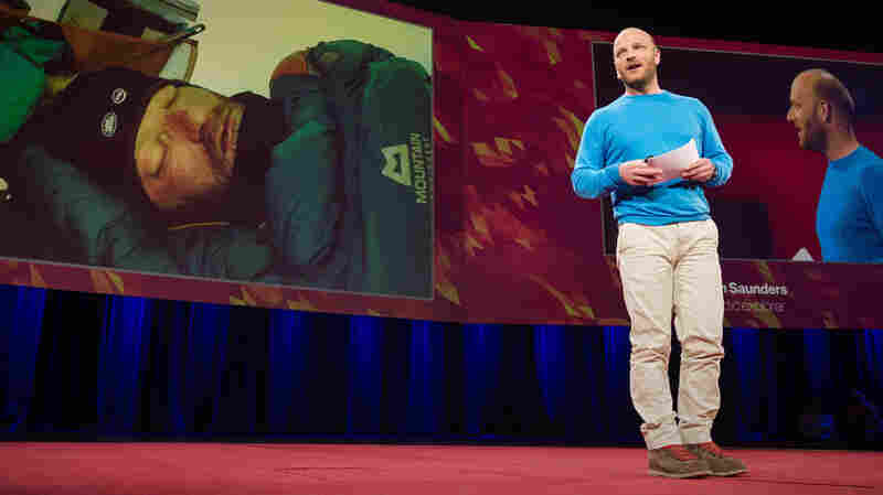 """""""That I'm standing here telling this story is proof that we all can accomplish great things, through ambition, through passion, through sheer stubbornness."""" — Ben Saunders"""
