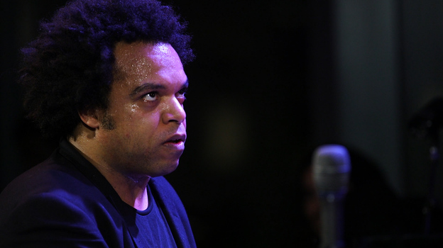 Eric Lewis performs at Jazz at Lincoln Center. (NPR)